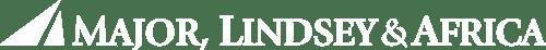 MLA logo white